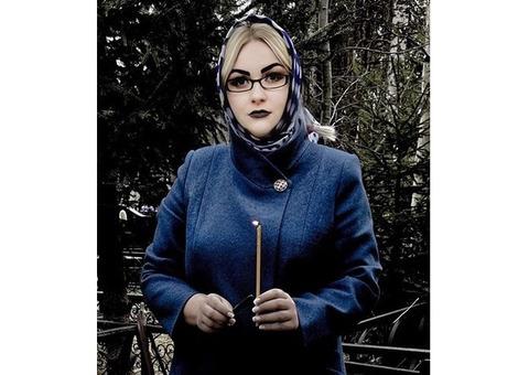 Потомственная колдунья Алина. Опыт работы более 20 лет.